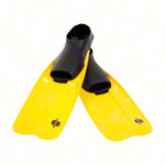 Flippers Power Safe, size 45-47, yellow