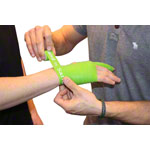 Flossband Level 1, 2m x 2,5 cm, light, green