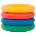 Foam rubber ring, Ø 17 cm , set of 4