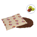 Grape seed bags with cotton cover large, 20x30 cm