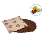 Grape seed bags with cotton cover small, 19x19 cm