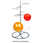 Gymnastics ball rack for 10 balls