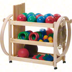Gymnastics equipment trolleys Standard set, 107 pieces