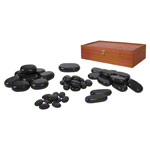 Hot Stone stones-set, 50-piece