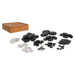 Hot Stone stones-set, 70-piece