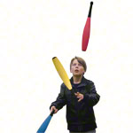Juggling rings made of foam rubber 51.5 cm, set of 3
