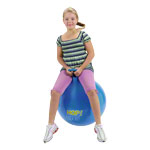 Jumping ball, Ø 65 cm, blue