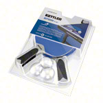 KETTLER table tennis racket-set outdoor: 2 table tennis rackets + 3 table tennis balls