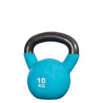 Kettlebell, 10 kg, light blue