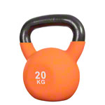 Kettlebell, 20 kg, orange,