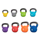 Kettlebells 4-24 kg, set of 8
