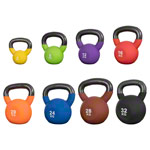 Kettlebells 4-32 kg, set of 8
