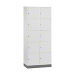 Large-locker with 10 compartments, HxWxD 195x82x49 cm