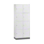 Large-locker with 8 compartments, HxWxD 195x82x49 cm