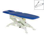 Lojer therapy couch Capre F3RH roof position hydraulic 3-piece, width: 75 cm