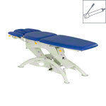Lojer therapy couch Capre F5RH roof position hydraulic 5-piece, width: 75 cm