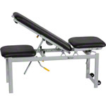 Lojer training bench, 3 piece, black