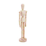 Male mannequin incl. stand, 30 cm
