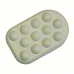 Massage attachment foam rubber boot for Vibramat