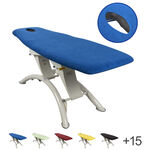 Massage table cover with nose slit opening, 200x65 cm