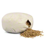 Meditation cushion with spelt husk, Ø 40 cm