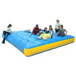 Mini-Jumpy air cushion, 350x350x40 cm