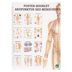 Mini poster booklet - Acupuncture of humans - , LxW 34x24 cm, 12 posters