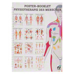 Mini poster booklet - Human physiotherapy - , LxW 34x24 cm, 12 posters