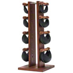 NOHrD Swing Tower incl. 8 Swing dumbbells, 26 kg, Club-Sport