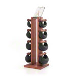 NOHrD Swing Tower incl. 8 Swing dumbbells, 40 kg, Club-Sport