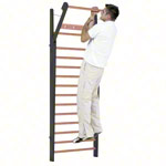 NOHrD Wall bars Club-Sport, foldout, HxWxD 230x80x13 cm, 14 bars