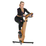 NOHrD bike ergometer oak
