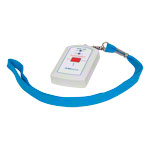 Neck strap transmitter WSN for emergency call system medi-call incl. capes and velcro