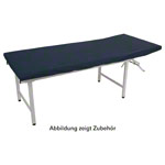 Oil-resistant bed covers with PU coating, 200x65 cm, blue