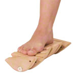 Pedalo foot and leg trainer, foot torsion trainer