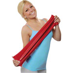 Physio Band 25 m x 15 cm, extra thick, red