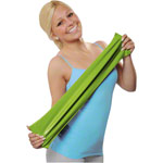 Physio Band 25 m x 15 cm, lightweight, green
