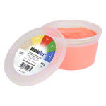 Physioflex Therapy plasticine medium, 450 g, red