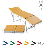 Portable Massage Table Egema incl. headboard, LxWxH 188x55x73-82 cm