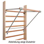 Pull-up bar for wall bars, width 70 cm