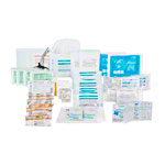Refill-set for first aid boxes according to DIN 13169