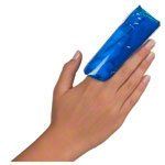Roll-on cold / warm compress for fingers, Ø 3.5 cm x 10 cm