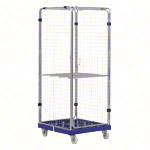 Roller container RC / S1 incl. plastic pallet and shelf