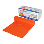 Sanctband resistance ribbon, 5,5 m x 15 cm, light, orange
