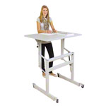 Sit-stand work table Ergo S 72