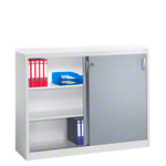 Slide door cupboard, HxWxD 120x160x40 cm