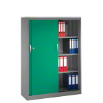 Slide door cupboard, HxWxD 160x120x50 cm