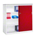 Slide door cupboard, HxWxD 160x160x50 cm