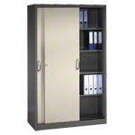 Slide door cupboard, HxWxD 195x120x50 cm