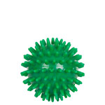 Spiky Massage Ball, ø 7 cm, green, medium